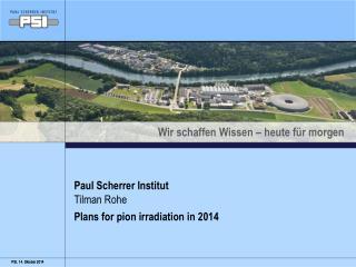 Paul Scherrer Institut
