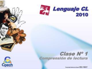 Lenguaje CL 2010
