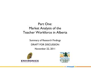 Part One:  Market Analysis of the  Teacher Workforce in Alberta