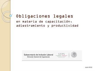 Obligaciones legales