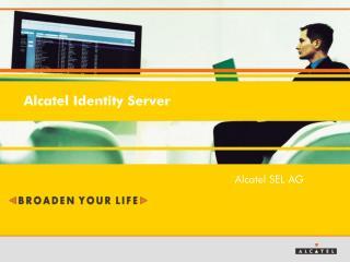 Alcatel Identity Server