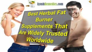Best Herbal Fat Burner Supplements That Are Widely Trusted W