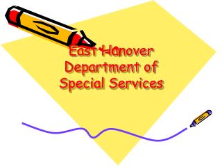 East Hanover Department of Special Services