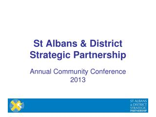 St Albans & District Strategic Partnership