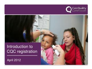 Introduction to CQC registration