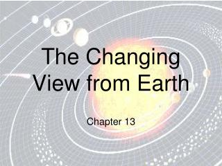 The Changing View from Earth
