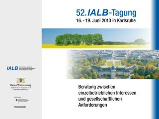 IALB- Tagung 2013