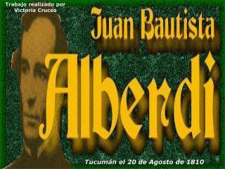 Tucumán  el 20 de Agosto de 1810
