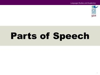 Language Studies and Academics