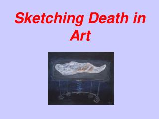 Sketching Death in Art