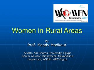 Women in Rural Areas