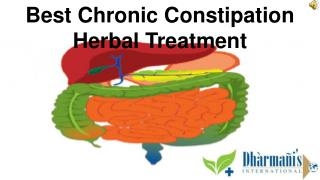 Best Chronic Constipation Herbal Treatment