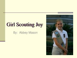 Girl Scouting Joy