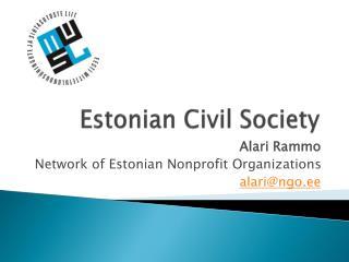 Estonian Civil Society