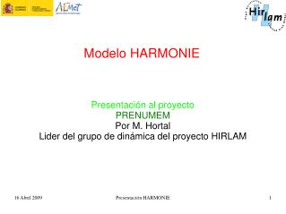 Modelo HARMONIE