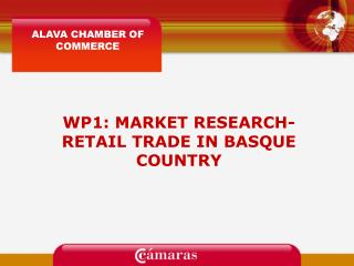 WP1: MARKET RESEARCH-RETAIL TRADE IN BASQUE COUNTRY