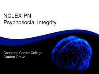 NCLEX-PN Psychosocial Integrity