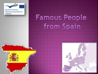 Famous People  from Spain