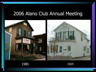 2006 Alano Club Annual Meeting