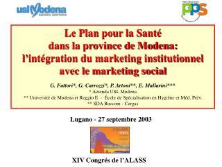 XIV Congrés de l'ALASS