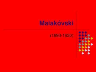 Maiakóvski