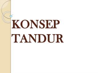 KONSEP TANDUR