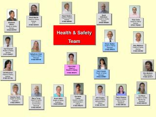 Helen Bale Head of  Health & Safety 01622 694273