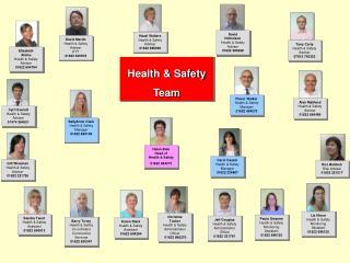 Helen Bale Head of  Health & Safety 01622 694273