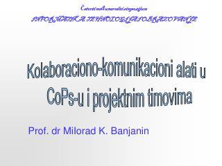 Četvrti međunarodni simpozijum INFORMATIKA, TEHNOLOGIJA I OBRAZOVANJE