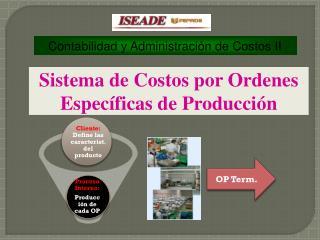 Contabilidad y Administraci�n de Costos II
