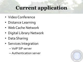 Current application