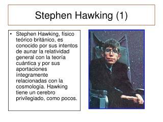 Stephen Hawking (1)