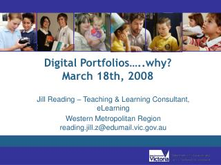 Digital Portfolios…..why? March 18th, 2008