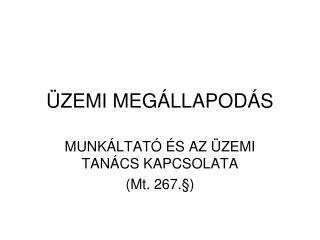�ZEMI MEG�LLAPOD�S