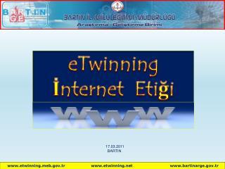 eTwinning İnternet  Etiği