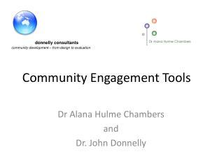 Community Engagement Tools