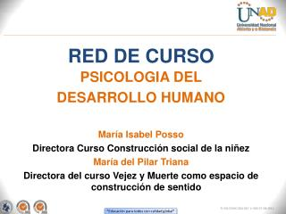 RED DE CURSO