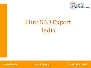 Hire SEO Expert India