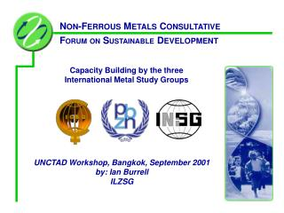 Capacity Building by the three  International Metal Study Groups