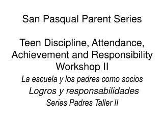 Please fill out the Title I Parent Information Survey Por favor, llenen la encuesta de T�tulo I