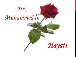 Hz. Muhammed'in