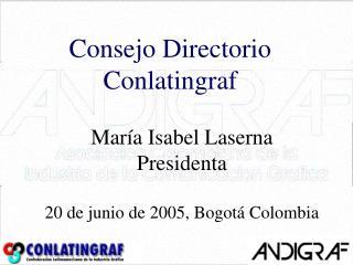 Consejo Directorio Conlatingraf
