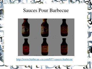 Sauce savoureuse et saine de Barbecue