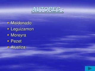AUTORES :