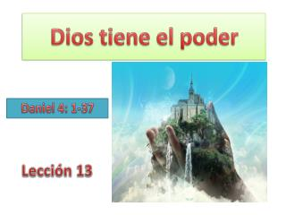 Dios  tiene el poder