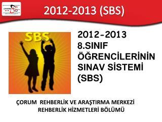 2012-2013 (SBS)