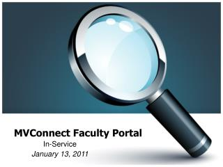 MVConnect Faculty Portal