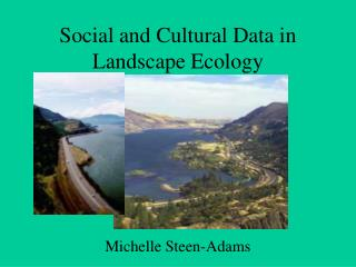 Social and Cultural Data in Landscape Ecology