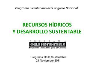 Programa Bicentenario del Congreso Nacional