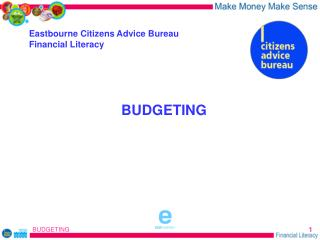 Eastbourne Citizens Advice Bureau Financial Literacy